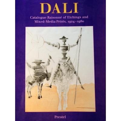 Dali,    catalogue raisonné  , en anglais. Etat neuf.