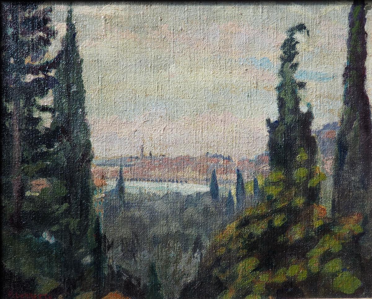 Paul Hippolyte Lorette (1886-1971)  Paysage De Montagne