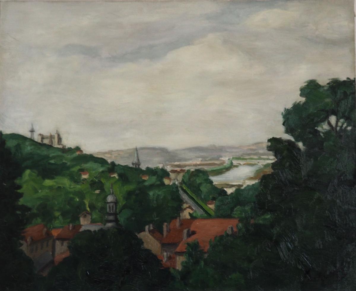 Agnes M, Paysage Au Clocher