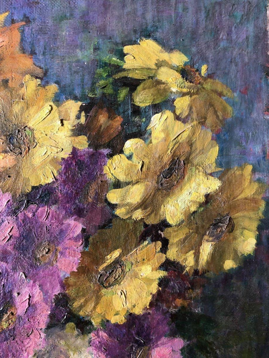 Composition au vase de fleurs.-photo-1