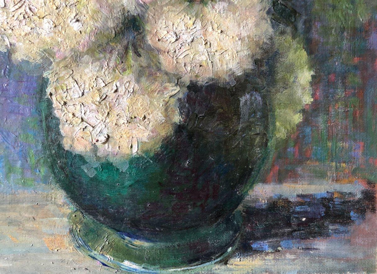 Composition au vase de fleurs.-photo-2