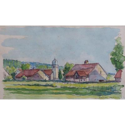 Bertin Pierre, village du Haut-Doubs