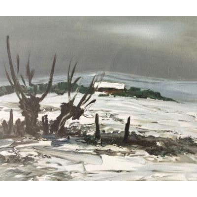 Georges Laporte, Snow In Burgundy