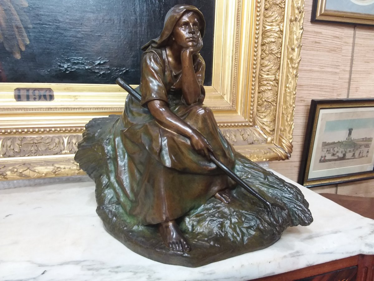 Bronze By Corneille Theunissen,  Susse Freres Paris