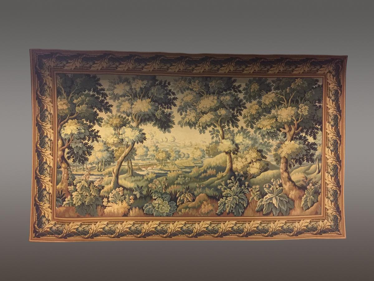 Grande Tapisserie Style XVIIIe Siècle