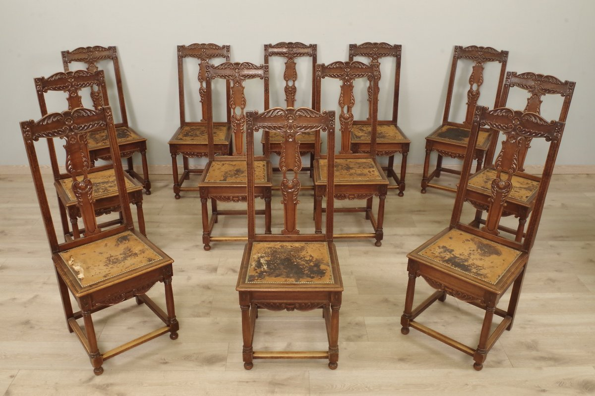 Renaissance Style Dining Chairs