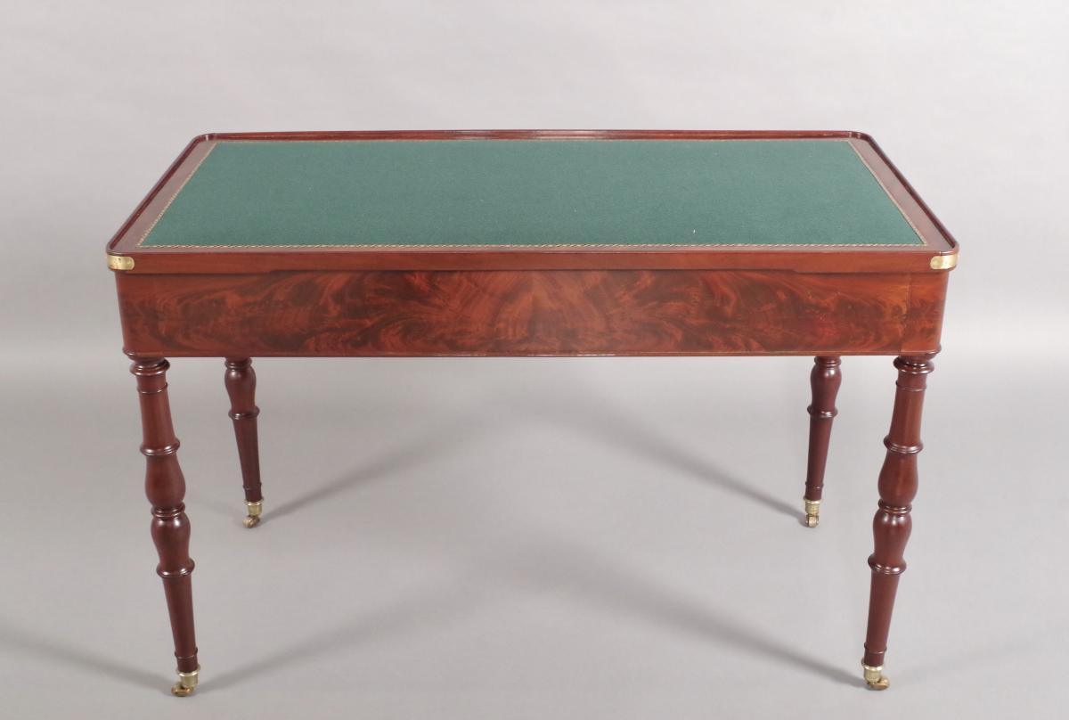 Table Tric-trac d'époque Restauration-photo-4