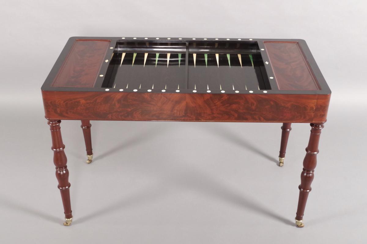 Table Tric-trac d'époque Restauration-photo-1