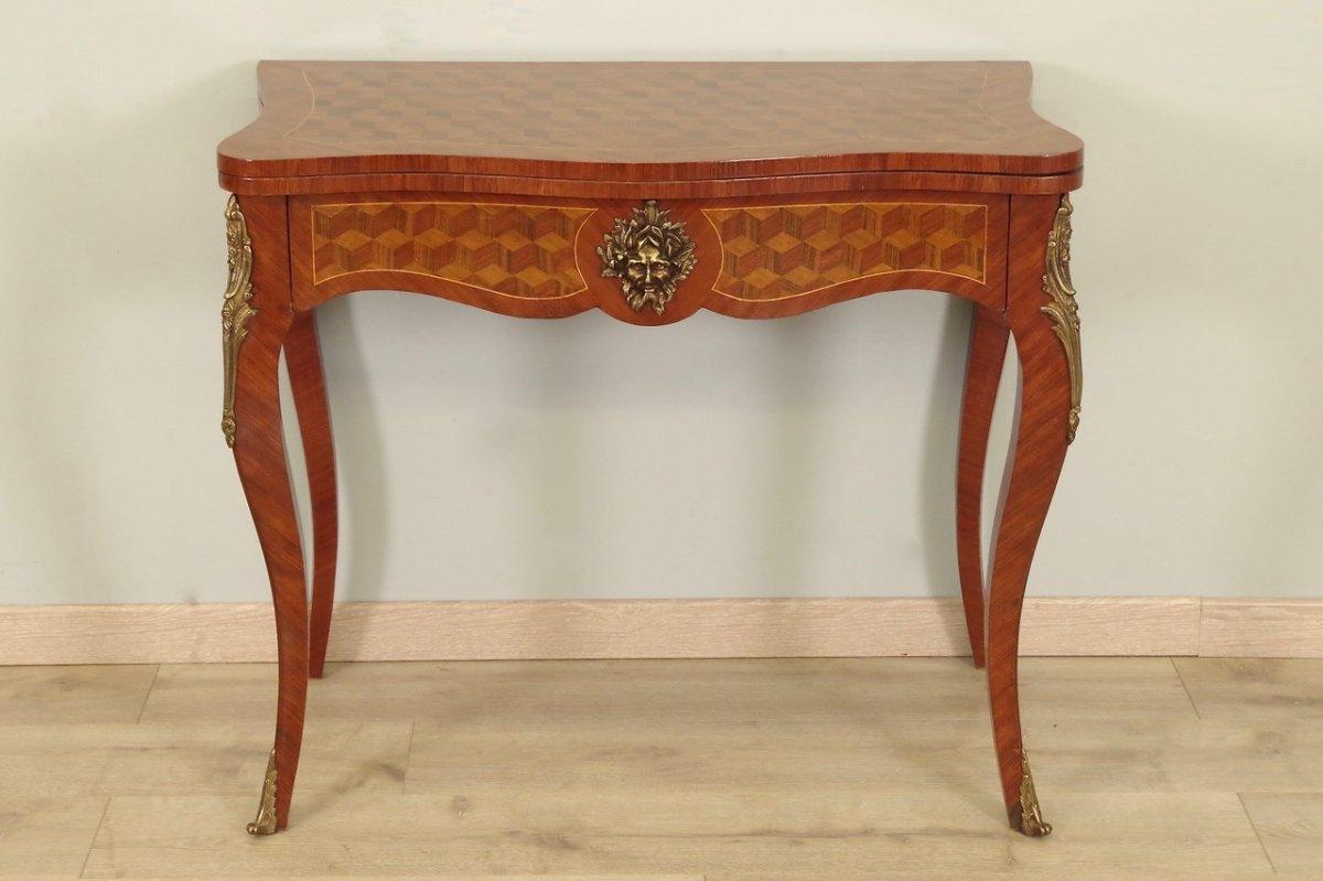 Table à Jeux Style Louis XV