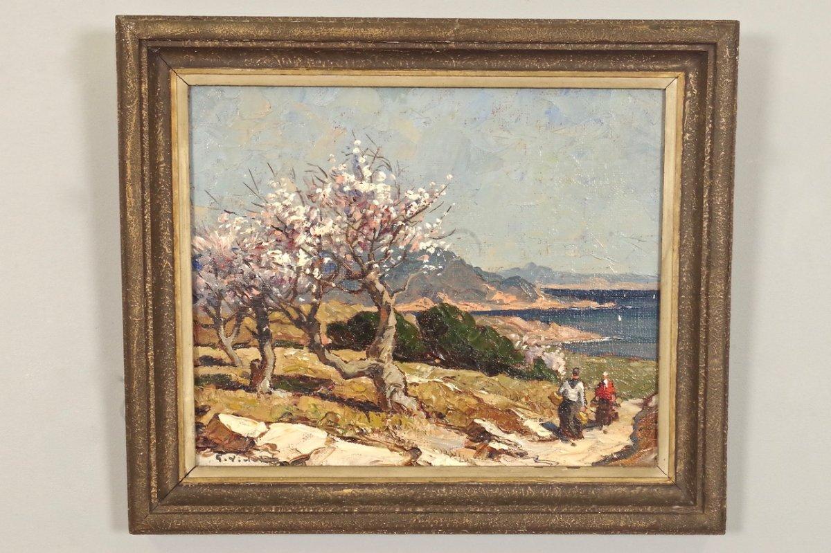 Etang De Berre, Gustave Vidal (1895-1966).