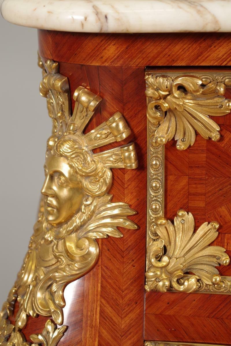 Commode Sauteuse époque Napoléon III-photo-8