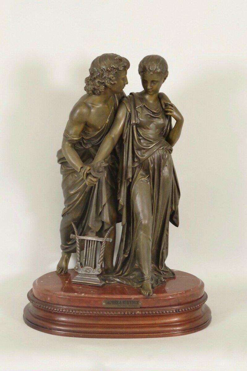 Hippolyte Moreau : Orphée Et Eurydice