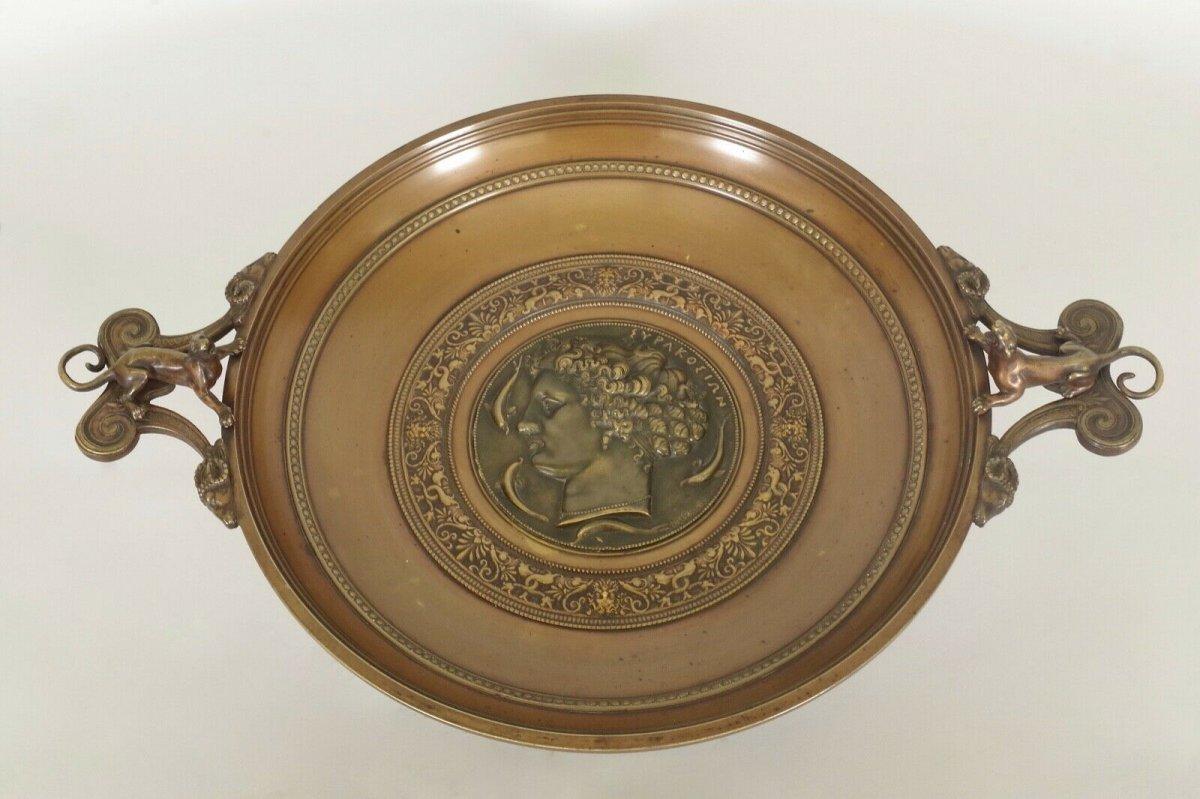 Ferdinand Levillain : Coupe En Bronze