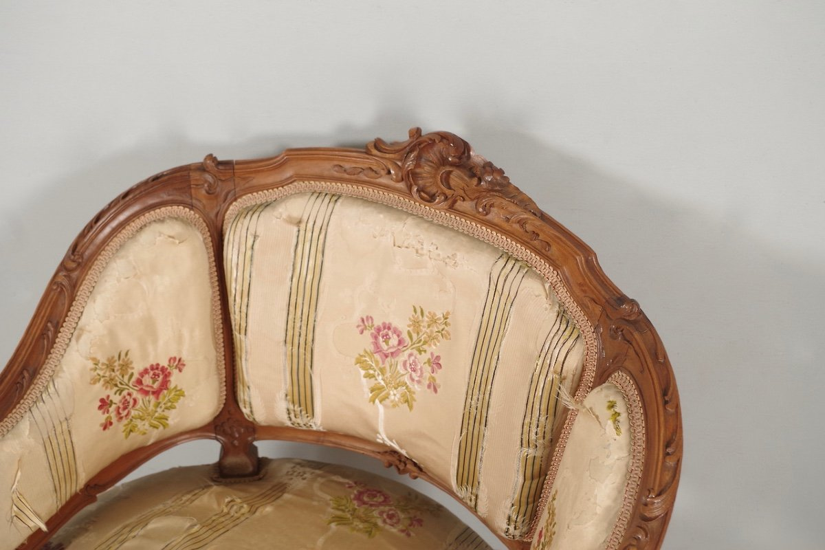 Paire De Bergères Style Louis XV-photo-5