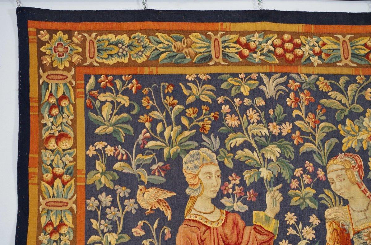 Tapisserie Aubusson Style Moyen-Age -photo-2