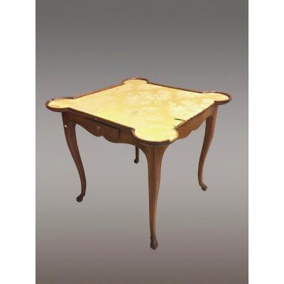 Table à Jeux Cabaret Louis XV XVIIIe Siècle
