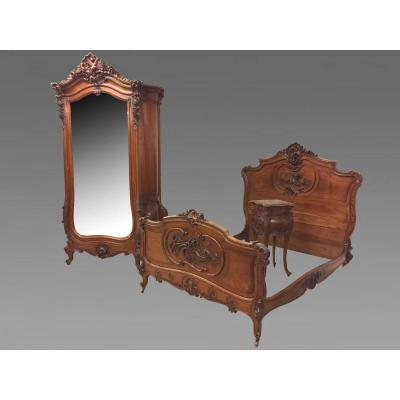 Chambre à Coucher Style Louis XV Rocaille