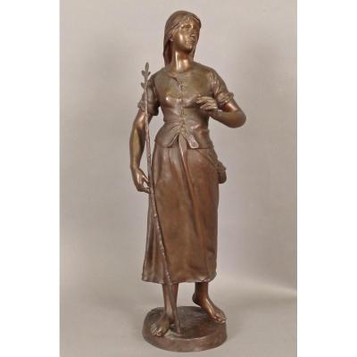 Grand Bronze Signé Marioton