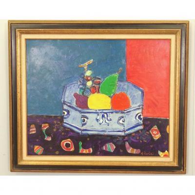 Jardinière De Fruits Par Paul Aïzpiri