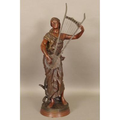 Bronze Sémiramis Par Georges Coudray