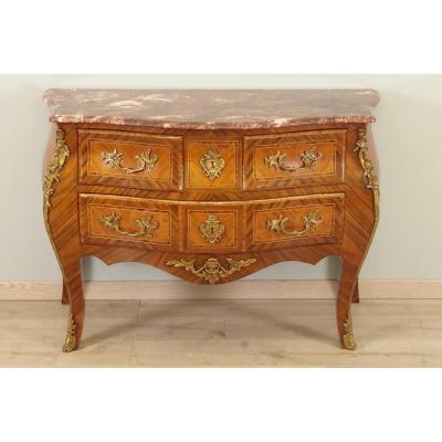 Commode Sauteuse Style Louis XV
