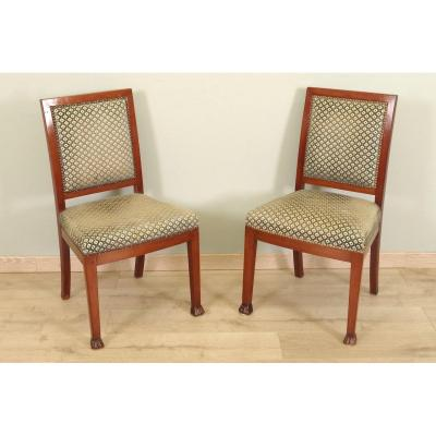 Pair Of Chairs Return From Egypt