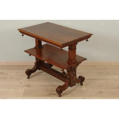Table à Thé Style Renaissance