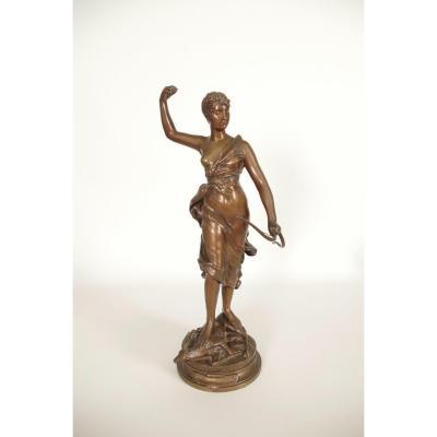 Bronze Diane Chasseresse Par Levasseur