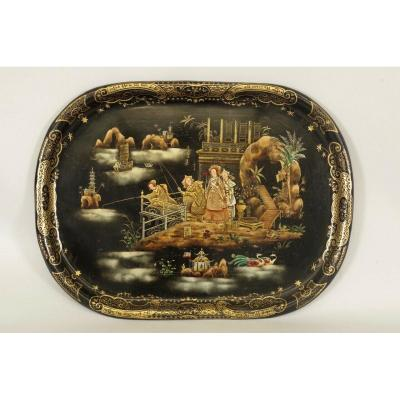 Napoleon III Painted Sheet Tray