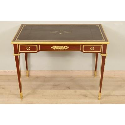 Louis XVI Style Desk Signed Sormani