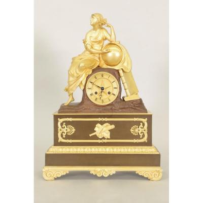 Charles X Allegory Astrology Clock