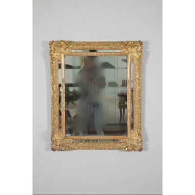 Golden Wood Mirror Regency Period