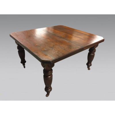 English Style Mahogany Dining Table