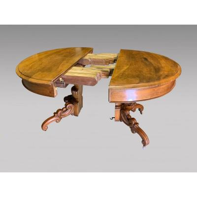 Louis-philippe Pedestal Table With Central Foot