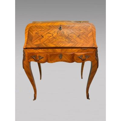 Louis XV Style Sloped Desk Rosewood