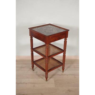 Louis-philippe End Table Pedestal