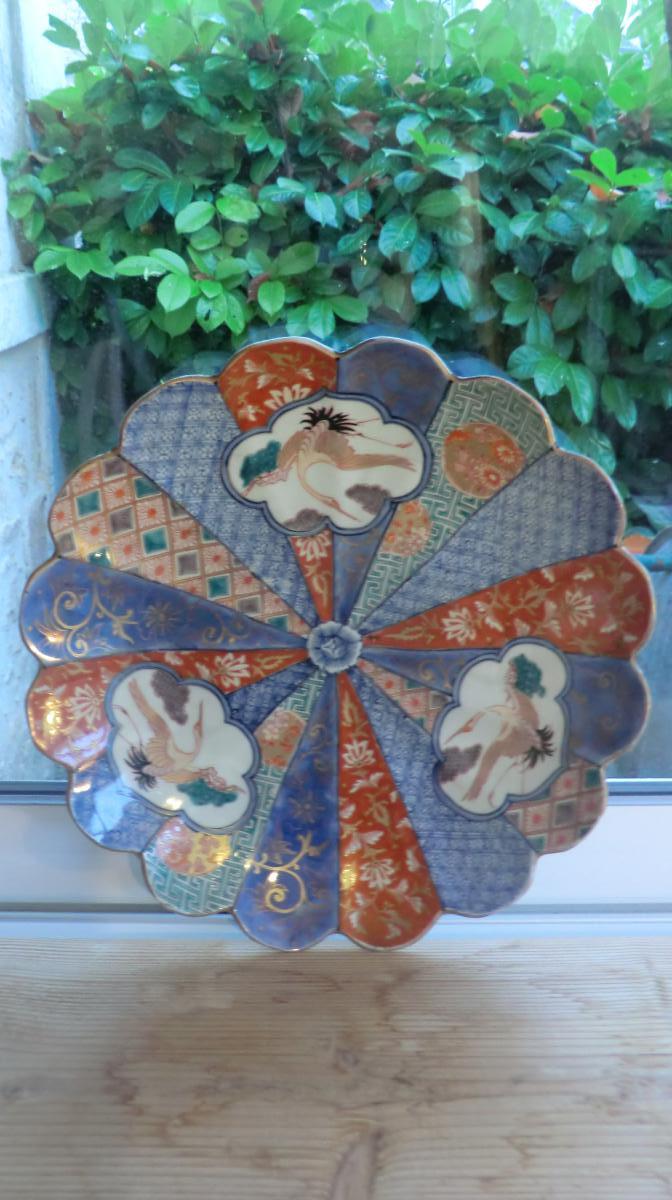 Flat Porcelain From Japan