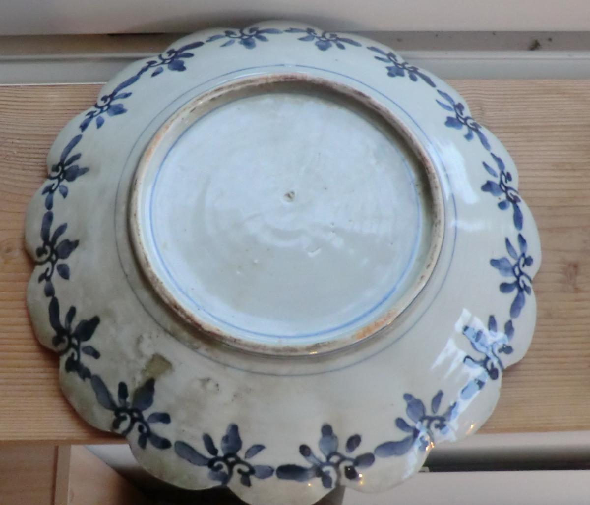 Flat Porcelain From Japan-photo-3