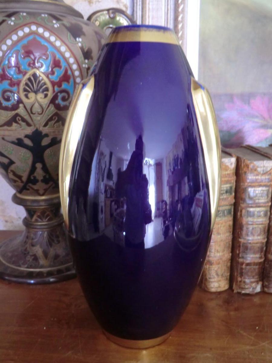 Vase Art Deco Signé Pinon Maurice