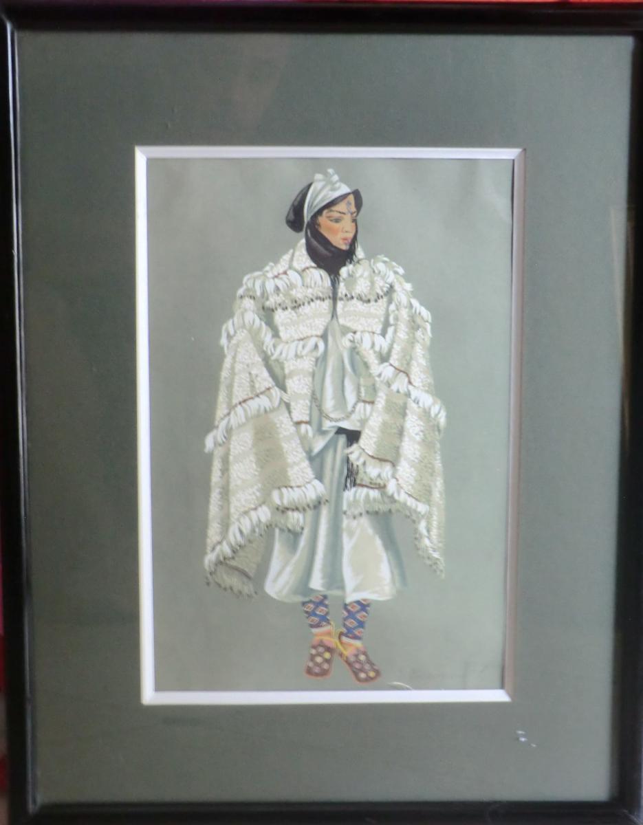 Jean Besancenot Femme Des Aït Mguild Maroc