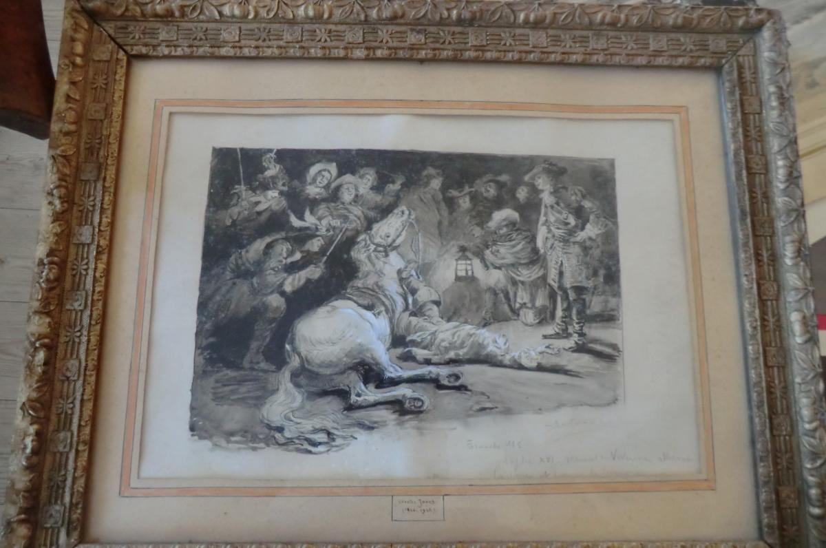 Jouas Charles Drawing For Refugees Conan Doyle