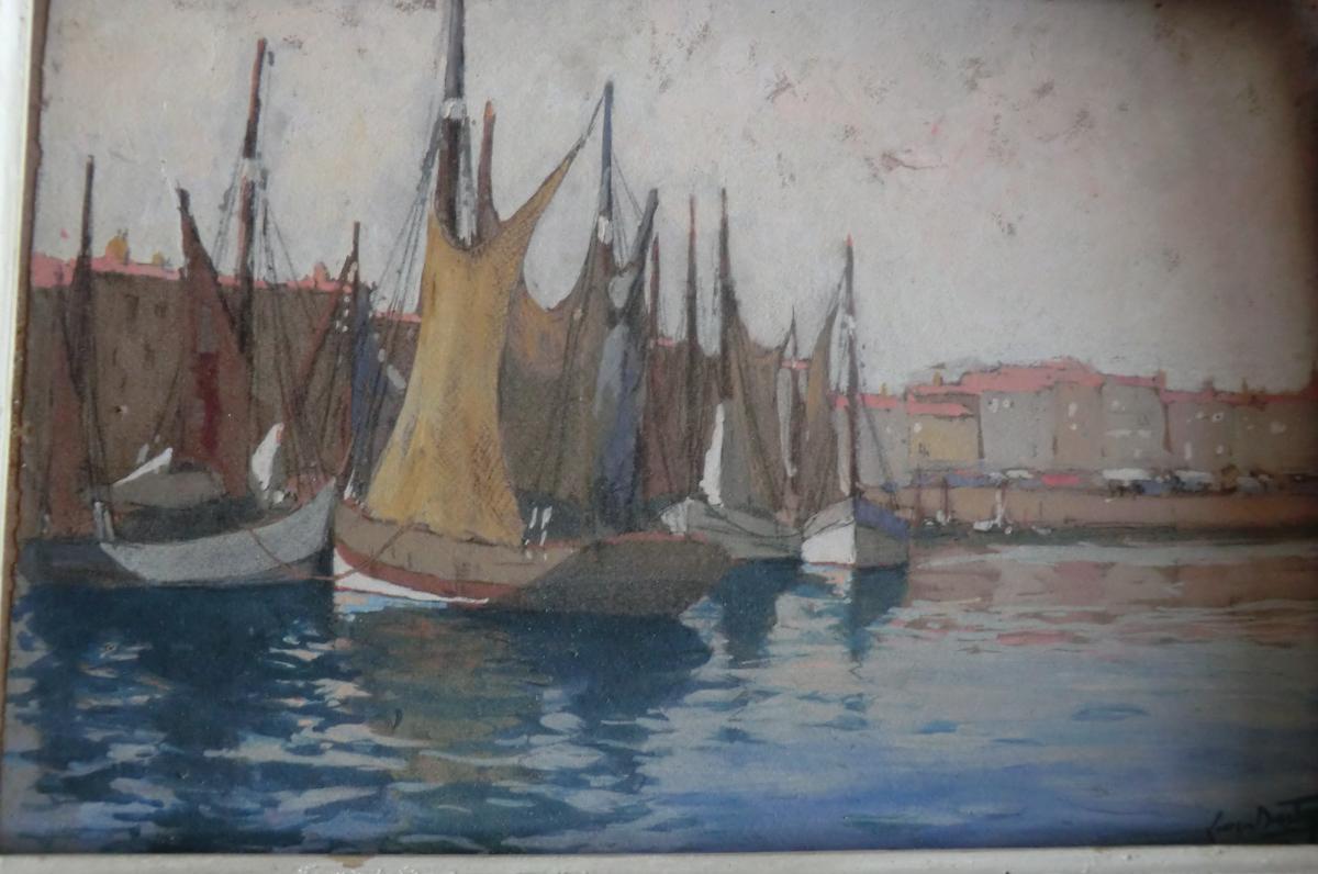 Bateaux Au Port Saint Martin De Ré?