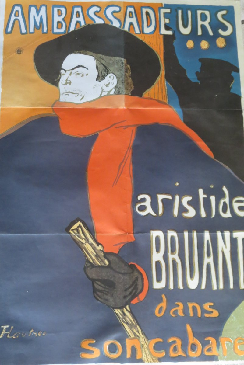 Toulouse Lautrec Aristide Bruant