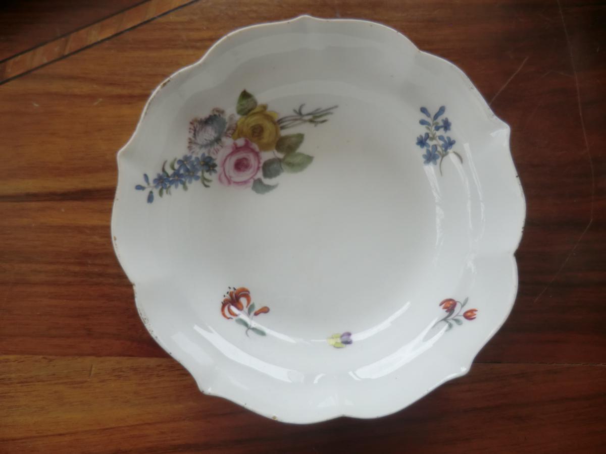 Coupelle En Porcelaine De Meissen 18è