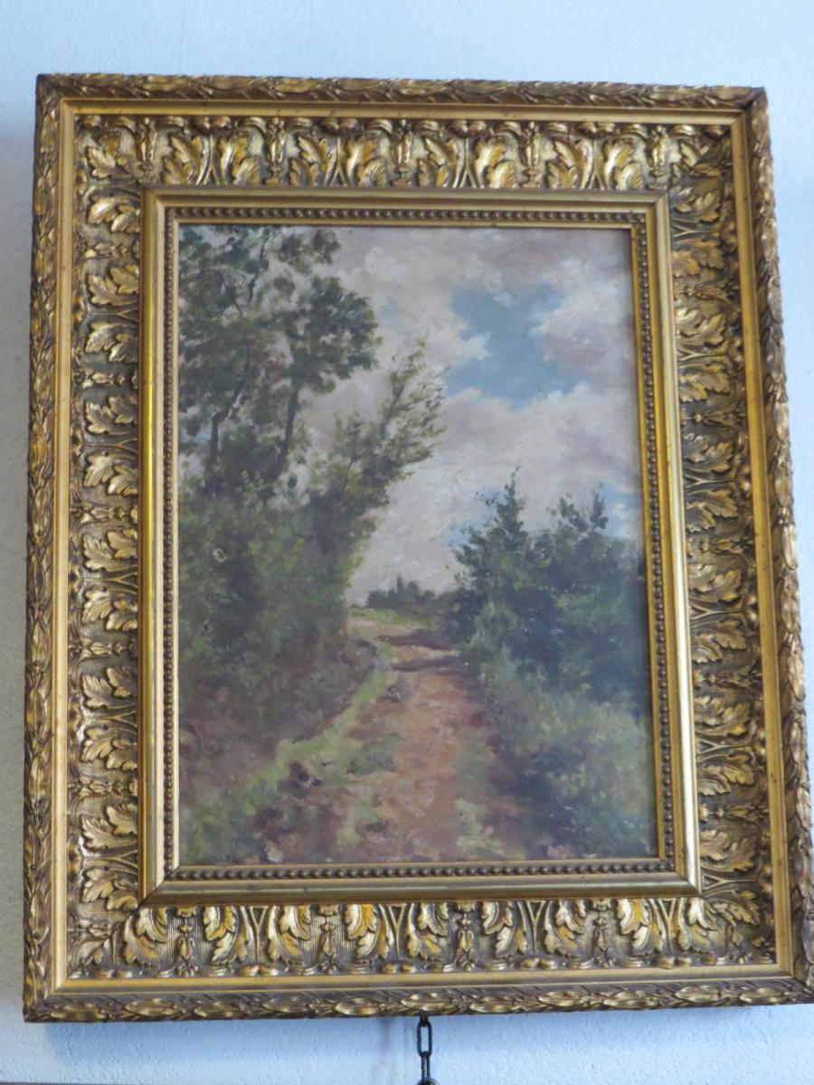 Tableau Chemin En Forêt