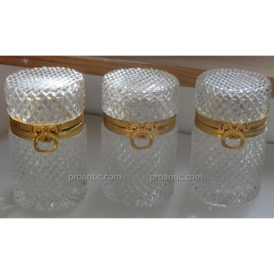 Boites En Cristal De Style Charles X