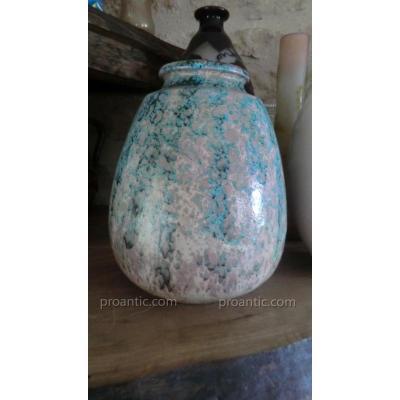 Vase Art Deco Emaillé