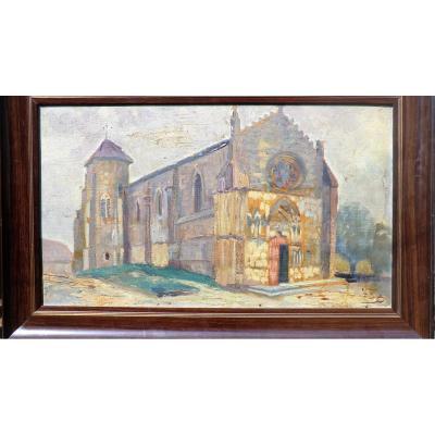 Tableau Eglise De Saint Macaire