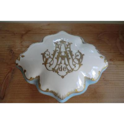 Bobonniere En Porcelaine De Limoges