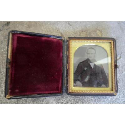 Daguerreotype Portrait Of Man